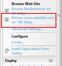 multisite configuration browse
