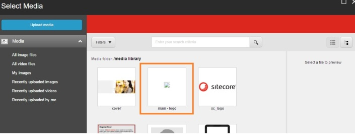 Sitecore image uploaded returns broken image