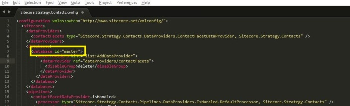 Sitecore.Strategy.Contacts config