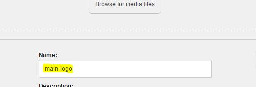 Sitecore upload an image via Image upload dialog box with no spaces on and before the dash